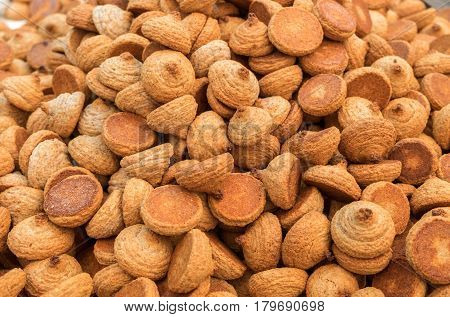 Peanuts Cookie, Kosher For Passover, For Sale At Mahane Yehuda Market, Popular Marketplace In Jerusa