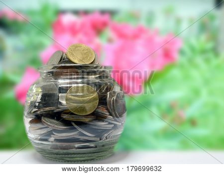 save money concept, save coin concept, save banking business