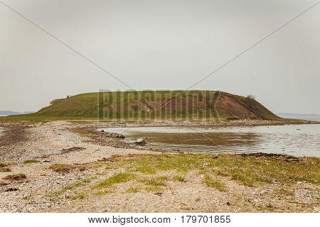 a little islands  near roskilde sealand denmark