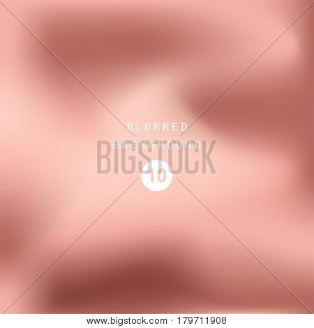 Vector dusty cedar foil background. Pink silk smooth texture. Trendy template for holiday designs wedding invitation party banner flaiyer card birthday web