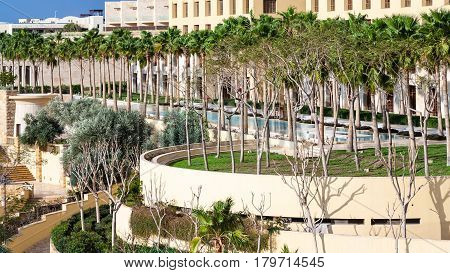Gardens Of Kempinski Resort Hotel On Dead Sea