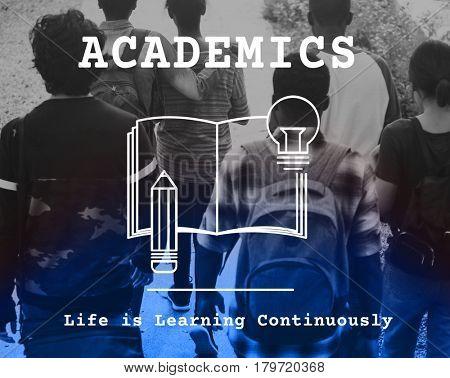 Study Knowledge Academics Institute Graphic