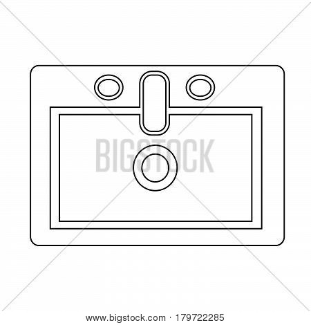 an images of Or pictogram Sink icon
