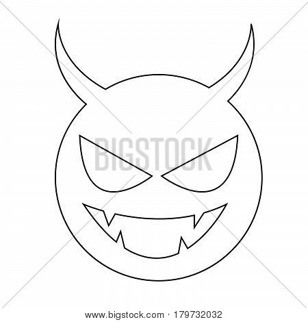 an images of Or pictogram Devil icon