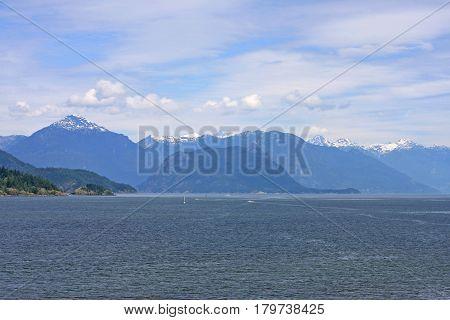 Coastal mountains and Coast of British Columbia