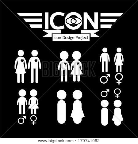 an images of Or pictogram Gender Icon