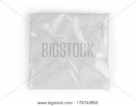 Talc powder bag isolated on white Heroin, Coke, Lacing, Cocaine, Decoy, Fishinghook