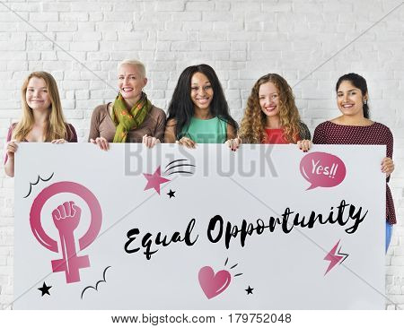 Feminism equality confidence women right