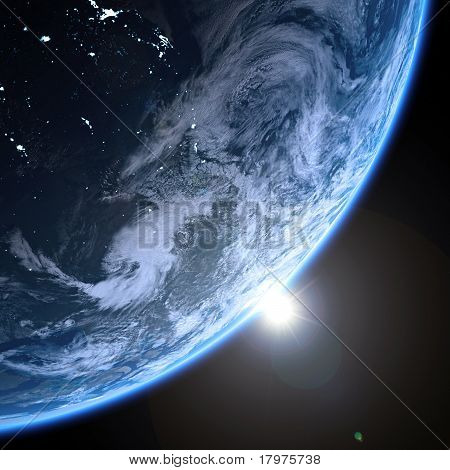 Earth Day Night High Resolution Textures