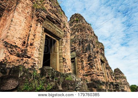 two towers Pre Rup temple, Angkor complex