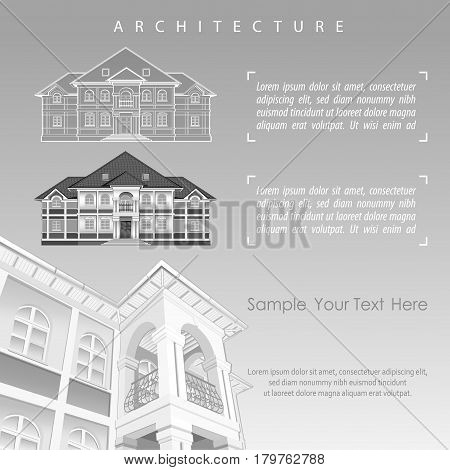 Architectural Plan Of Building With Specification