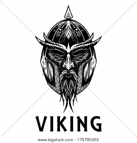Viking Warrior Head Vector Photo Free Trial Bigstock