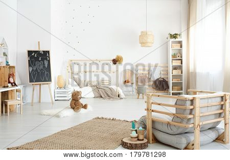 Spacious Kid's Bedroom