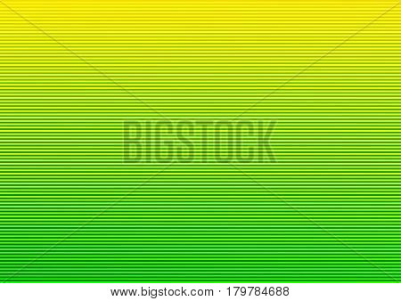 Abstract striped lined horizontal glowing background. Scan screen. Technological futuristic card with stripes. Vector illustration.