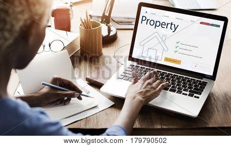 Businesswoman Housing Property technology