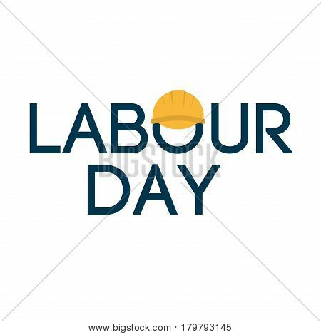 Grunge background Labor Day typography engineer occupation vector illustration. Celebration freedom international may labour day holiday. Construction labour day industry card national banner. poster