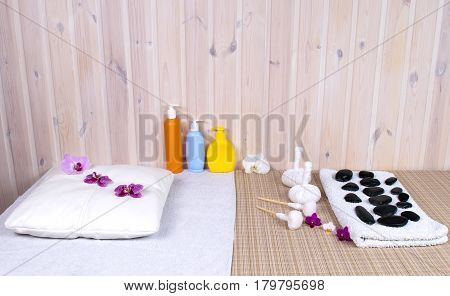 place for the provision of services for relaxation stones and herbs