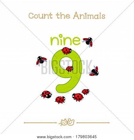 Nine 9 card (Series of