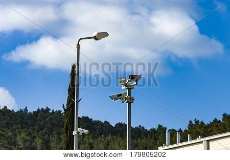 Surveillance idea for safety Security for surveillance