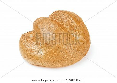 Bread product isolated on a white background with clipping path