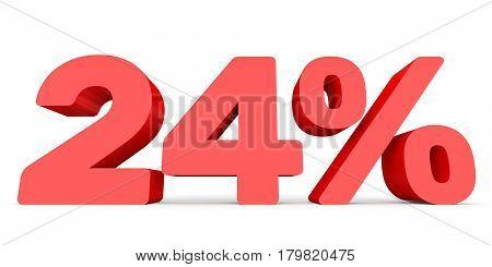 Twenty Four Percent Off. Discount 24 %.