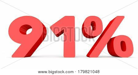 Ninety One Percent Off. Discount 91 %.