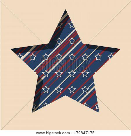 American Star Background.
