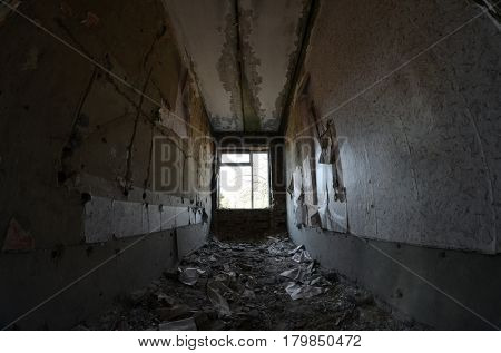Abandoned military base in near Kiev