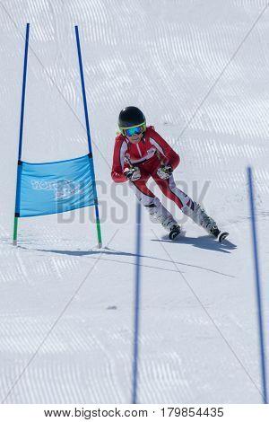 Marta Carvalho During The Ski National Championships