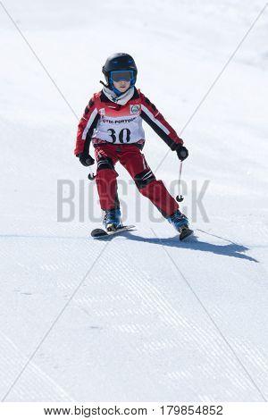 Gustavo Silva During The Ski National Championships