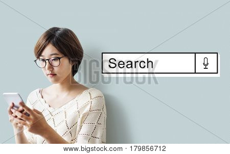 Search Engine Network Technology Concept