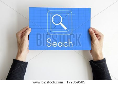 Search Magnifying Glass Icon App