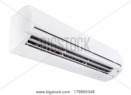 Split air conditioner isolated on white background (with clipping path)