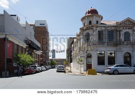 The Old Cosmopolitan Hotel In The Popular Maboneng Precinct Of Johannesburg