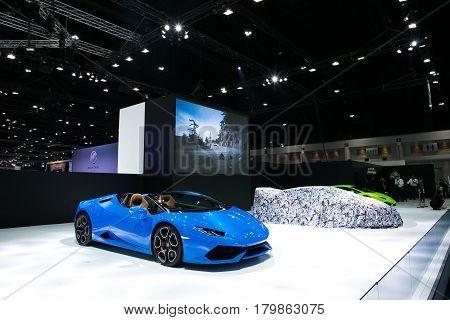 Bangkok International Motor Show 2017 Bangkok,thailand 29 March 2017 - 9 April 2017