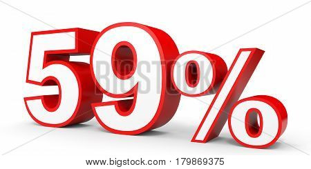 Fifty Nine Percent Off. Discount 59 %.