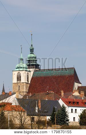 Church Of St. James The Greater In Jihlava, Czech