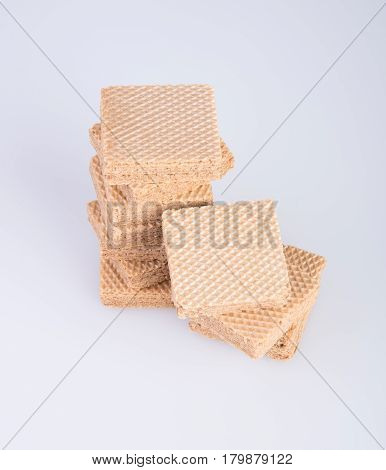 Wafer Or Wafer Biscuit On The Background.