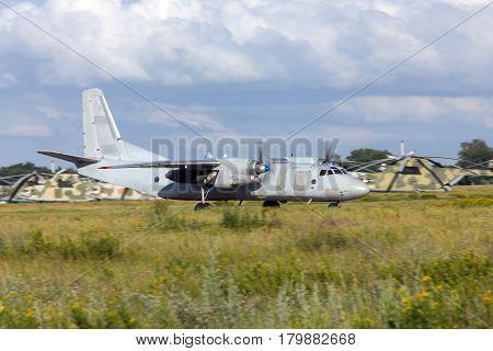 Antonov An-26 plane landed Rostov-on-Don Russia June 28 2011