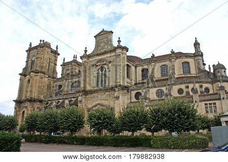exterior of Notre Dame church, Vitry le Francois