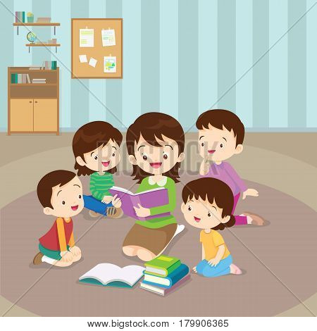 Teacher Reading For Kids