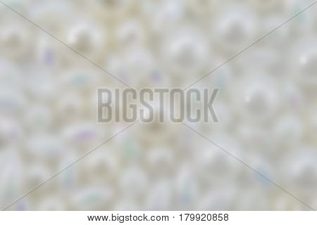 Abstract blurred pearl background for christening or wedding
