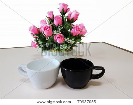 Pink rose isolated,Rose in Valentine day concept,Wedding concept,St Valentines day background,St Valentines day concept of romantic St Valentines day still life.