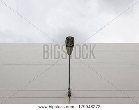 Lamppost On Exterior