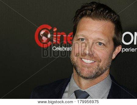 David Leitch at the CinemaCon 2017 - Focus Features Luncheon And Studio Program Celebrating 15 Years held at the Caesars Palace in Las Vegas, USA on March 29, 2017.