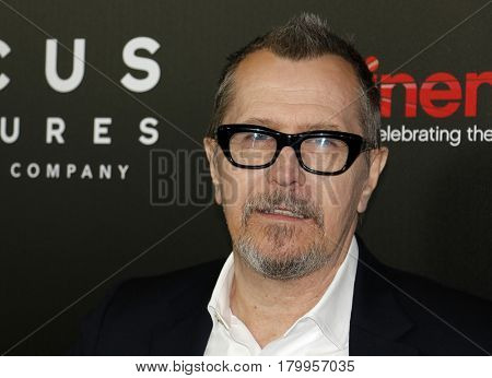 Gary Oldman at the CinemaCon 2017 - Focus Features Luncheon And Studio Program Celebrating 15 Years held at the Caesars Palace in Las Vegas, USA on March 29, 2017.
