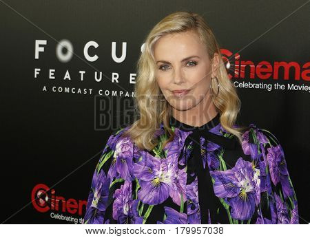 Charlize Theron at the CinemaCon 2017 - Focus Features Luncheon And Studio Program Celebrating 15 Years held at the Caesars Palace in Las Vegas, USA on March 29, 2017.