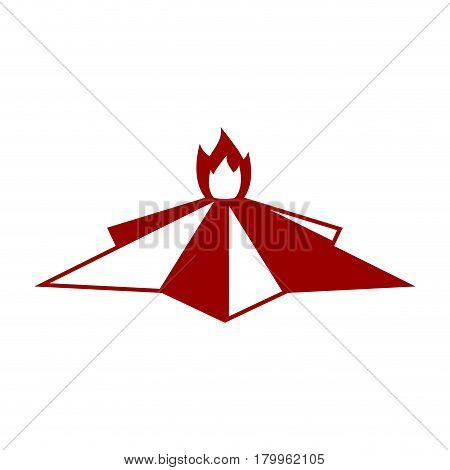 Eternal Flame Symbol Is Day Of Victory On May 9. Russian National Military Holiday