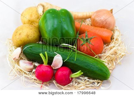 frische Mischung Gemüse