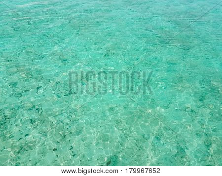 Abstract ocean background which can be used to add text Sea surface aerial view.